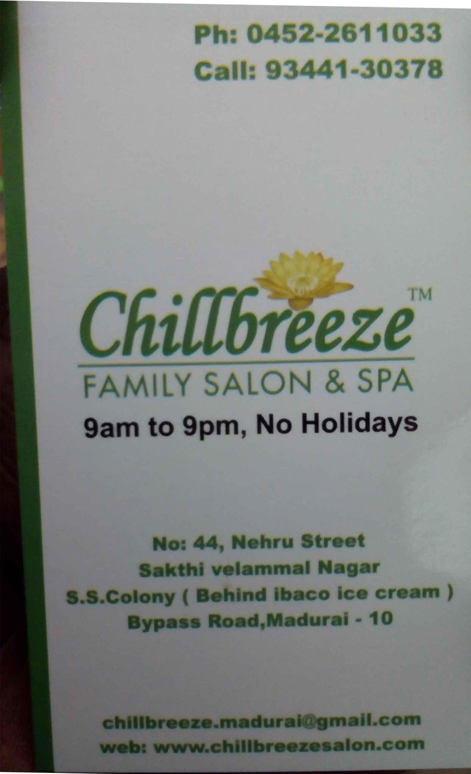Chillbreeze Family Salon & Spa
