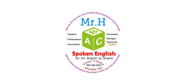 MR.H SPOKEN ENGLISH